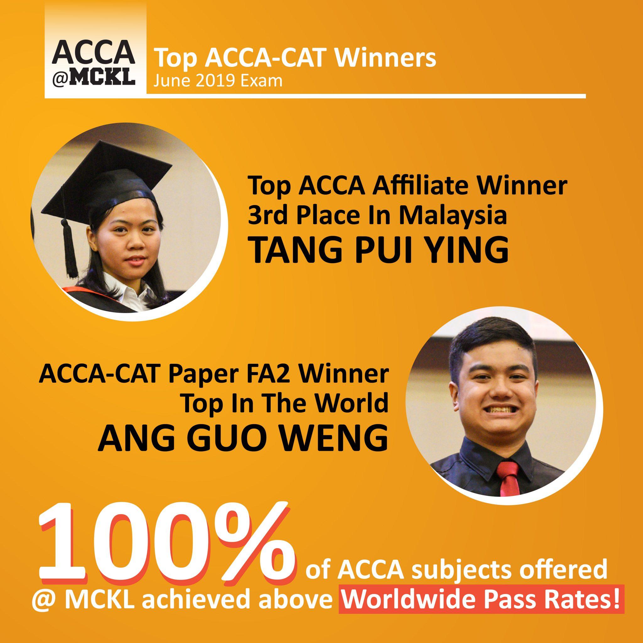 ACCA Prizewinners June 2019
