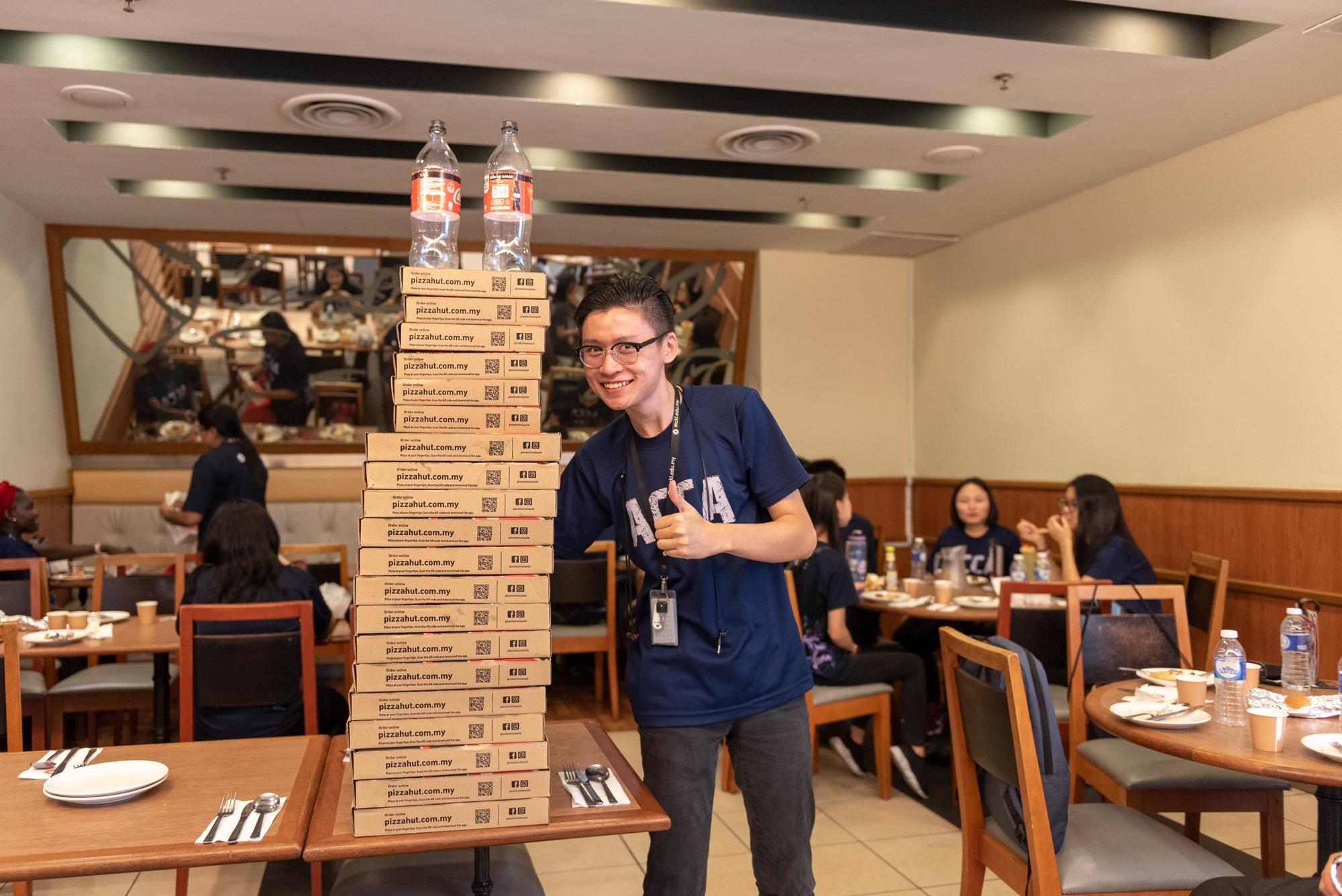 ACCA MCKL conquering Pizza Hut